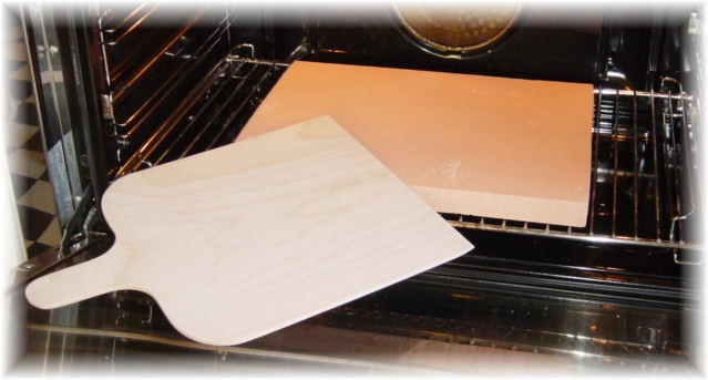 Piedra para hornear la casa de la piedra para pizza - Piastra refrattaria per forno casalingo ...